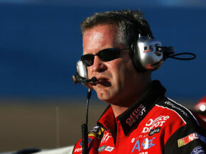 Crew chiefs like Bob Osborne, who runs the #99 Office Depot Ford (shown in Phoenix in 2008), have a lot to think about if the want to win races.