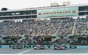 Homestead-Miami Speedway was first created as a rectangular oval but was cut down to a traditional oval to make passing easier and to increase speeds.