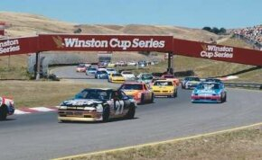 Infineon Raceway presents a challenge to stock car drivers because of its many twists and turns.