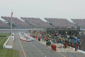 Michigan International Speedway is one of the fastest tracks since others have required restrictor plates.