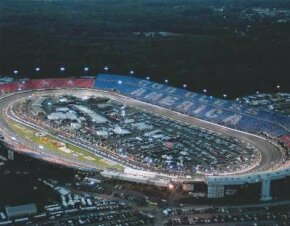 Richmond International Raceway is renowned for conducting its races at night under the lights.