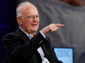 Intel co-founder Gordon Moore, of Moore's Law fame.