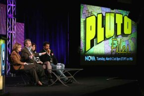 Tyson promoted the PBS show 'The Pluto Files' during a 2010 press tour. 'The Pluto Files' explored the rise and fall of the former planet.