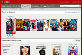 Netflix's Top 10 and other suggestions for you are based on your viewing habits.