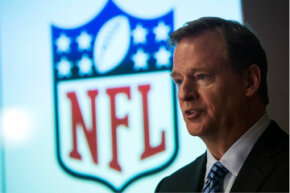 We bet Roger Goodell, the NFL commissioner, is glad he didn't have to negotiate a salary cap for the $44.2 million he received in compensation in 2012.