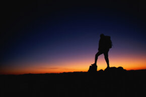 Hiking at night brings all new challenges and rewards. See more national park pictures.