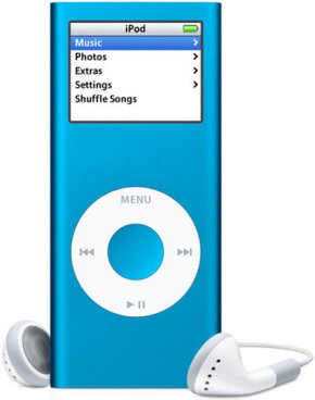 An iPod Nano, $110-$149 for 2 GB, $150-$199 for 4 GB, $200-$249 for 8 GB