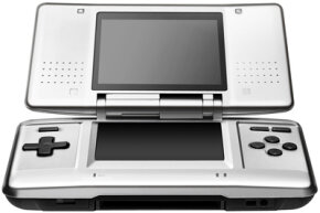 Nintendo DS is essentially a larger, two-screen game boy. See more video game system pictures