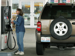 Fluctuating gas prices have hurt most Americans' budgets. Gas is a non-fixed expense that most working people can't do without.