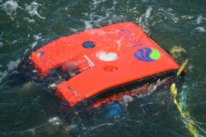 A remotely operated underwater vehicle used to check out the Baltic Sea pipeline.