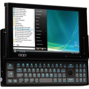 OQO Ultra Mobile PC with a slide-out QWERTY keyboard