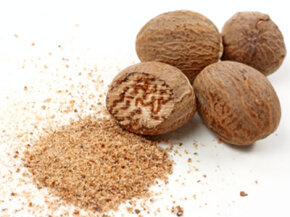 Nutmeg, grown in the Banda Islands in the East Indies, was an incredibly valuable spice in Europe.