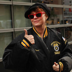 Although they aren't part of the 99 percent, Susan Sarandon and other celebrities support the Occupy cause.