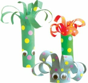Silly sea creatures are easy to make for a child of almost any age.