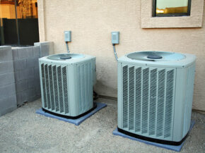 Air conditioners are energy hogs, so if you want to go green, go off peak.
