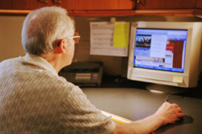 Online banks can charge less for services due to their lack of overhead.