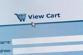 Shopping cart software allows website viewers to select their items, add shipping and credit card information and purchase.