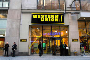 Western Union, one of today's main online money transfer operators, began as a transcontinental telegraph operator in 1851.