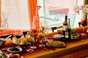 Don't stop with the food; get organic wine, too.