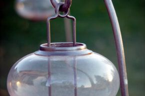 Outdoor candles are simple, stylish and functional.