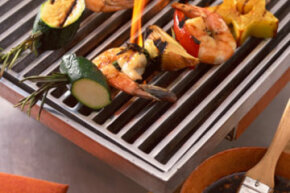 Do those kabobs look tasty? Build a hibachi grill for a fresh spin on summer barbecues.