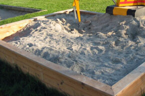 It's a fact - kids love sandboxes. Learn how to build an easy one for your backyard.