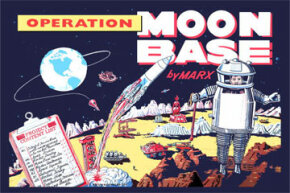 We have been dreaming about living on the moon for centuries, as this circa 1900 illustration attests. Are you in line for some lunar land? See more pictures of space exploration.