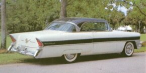 The Executive, available in 1956, was a smaller, less-powerful version of the senior Packards.