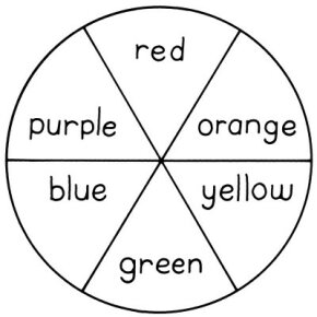 Create a color wheel to learn about complementary colors.