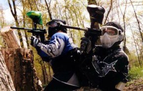 Paintball is usually played as a team sport. Rival teams attempt to capture the other team's flag, while defending their own.