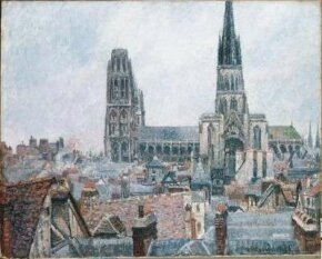 Camille Pissarro's The Roofs of Old Rouen, Gray Weather the Toledo