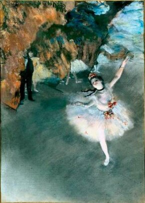 Hilaire-Germain-Edgar Degas's is a pastel on paper (23-5/8 x 17-3/8 inches) that is housed in Musée d'Orsay, Paris.