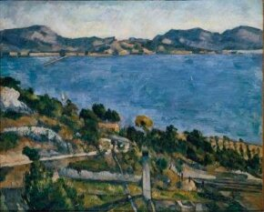 L'Estaque: View of the Bay of Marseilles by Paul Cezanne housed at the