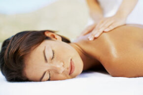 A massage a couple of weeks before the wedding will calm your nerves.