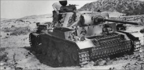 The Panzerkampfwagen III Ausf L is distinguished by its wider turret with sloping sides.