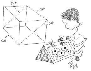 Easy Artist's Easel Paper Art Craft