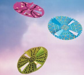 The Paper Flying Disc paper craft