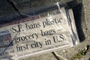 As stores and cities revolt against traditional plastic bags, is paper really a greener choice?