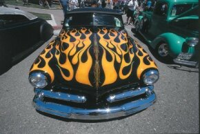 The Paso Robles show is considered the best custom car show in the world. See more custom car pictures.