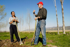 """The Peace Corps actively recruits retirees through its """"50 Plus Initiative"""" program."""