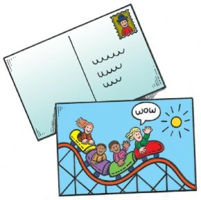 Send a personal postcard.