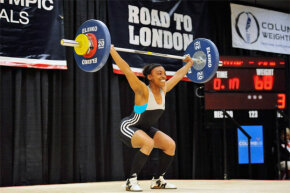 Weightlifters, among other athletes, may opt to pop the over-the-counter supplement creatine. Then 2012 U.S. Olympic hopeful Jacque Payne looks like she has her hands full though.