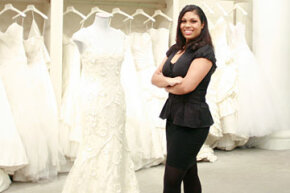 Image Gallery: Plus-size Brides Kleinfeld Bridal consultant Sarah Velasquez knows what looks great on women of all sizes. See pictures of plus-size brides.