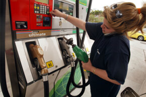 Cell phones have long been thought to be a possible cause of gas-station fires. But there's actually another culprit ... and another reason you should keep your phone holstered while you're at the pump.