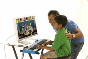 Piano Wizard is designed to teach piano to students of all ages.