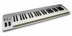 To use Piano Wizard, you'll need a MIDI keyboard that you'll hook up to your computer.