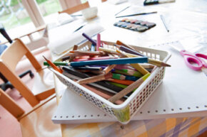 Get all your supplies together and get ready to craft!