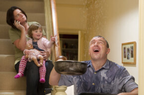 Water damage from burst pipes is the most common claim on homeowner's insurance.