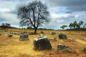 No one knows what the vessels  in the Plain of Jars were really used for.