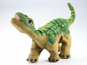 Pleo: A robotic Camarasaurus